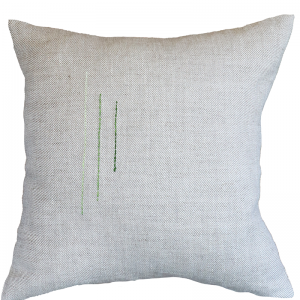 Hand Embroided Natural 1