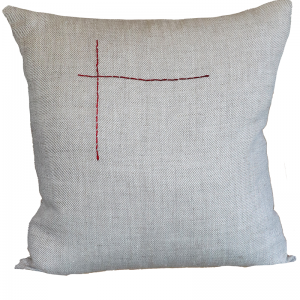 Hand Embroided Natural 2