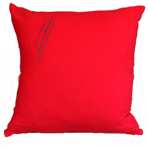 Hand Embroided Red 1
