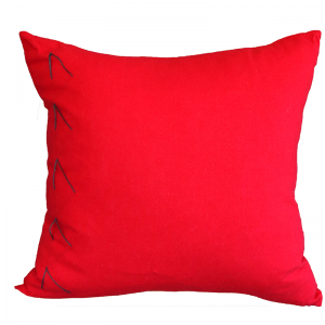Hand Embroided Red 2